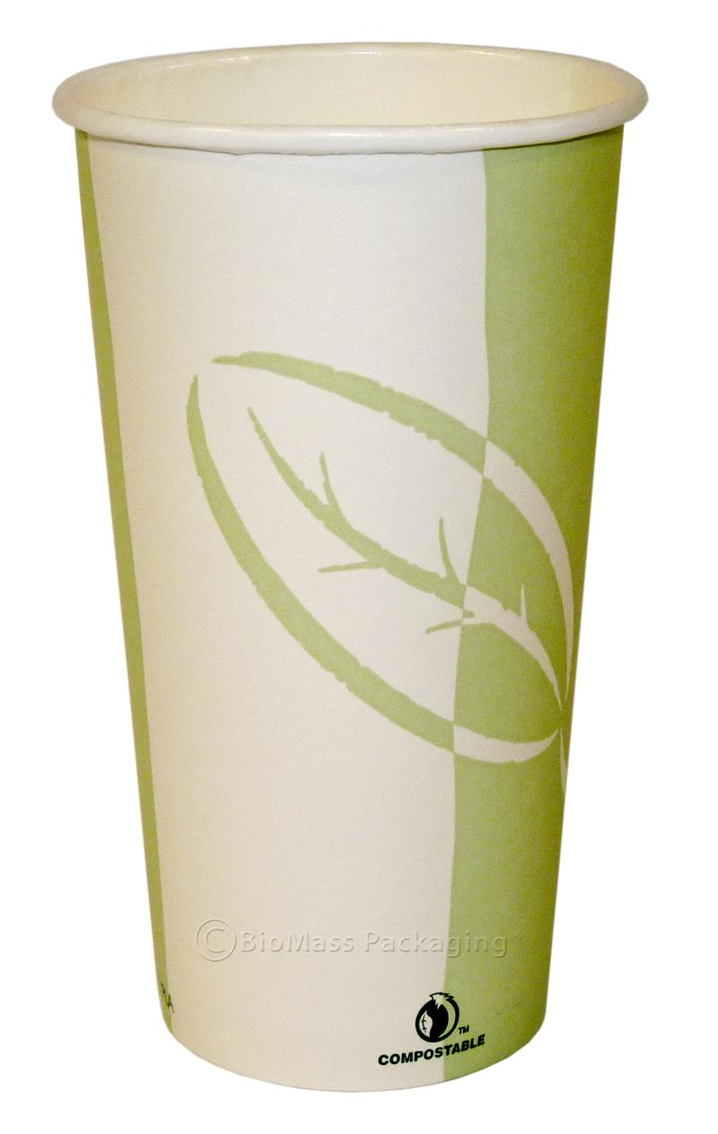 Ecotainer 20 Oz Stock Print Hot Cup Case Of 800