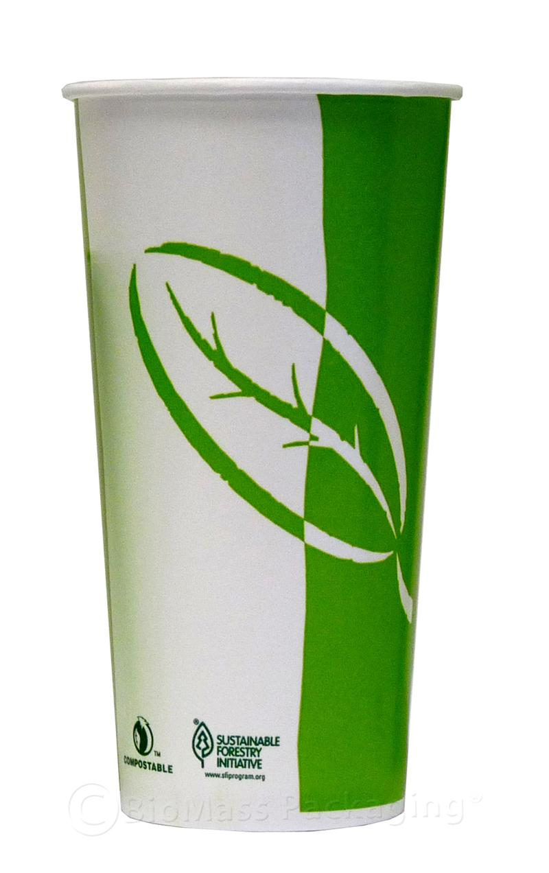 Ecotainer 22 Oz Stock Print Cold Cup Case Of 1000