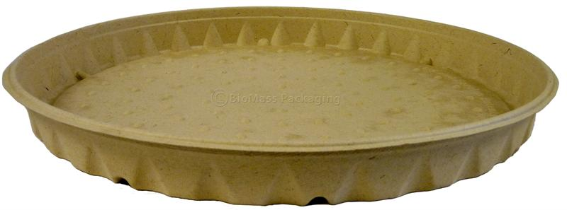 treesaver 16 round bagasse pizza box 16 diam x 1 5 case of 100. Black Bedroom Furniture Sets. Home Design Ideas