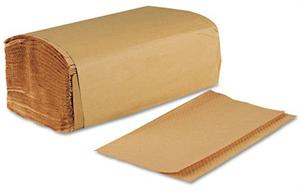 "Natural Single-fold Paper Towels (9"" x 9.45"") - Case of 4000"