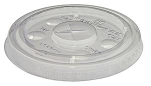 Greenware 10-oz. Cold Cup Flat Lid (with slot) - Case of 2500