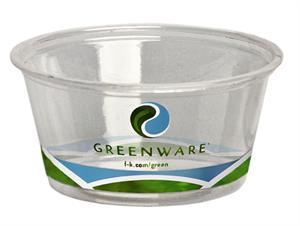 biodegradable compostable earth friendly earth-friendly eco friendly eco-friendly Greenware Souffle Portion Cup