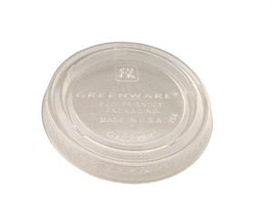 biodegradable compostable earth friendly earth-friendly eco friendly eco-friendly Greenware Souffle Portion Cup Lid