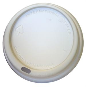 White Lid for ecotainer 10/12/16/20/24-oz. Hot Cups - Case of 1200