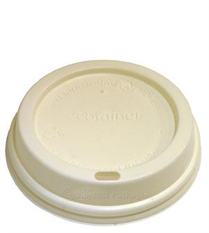 ecotainer Lid for 10/12/16/20/24-oz Hot Cups - Case of 1200