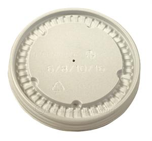 ecotainer 8-oz. Soup/Food Container Lid - Case of 1000