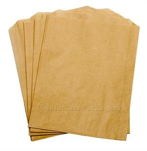 "#25 Natural Kraft Sandwich Bag (6.5"" x 1"" x 8"") - Case of 2000"