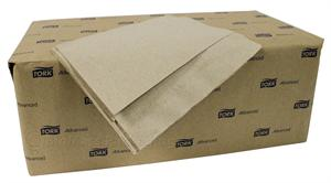 "Natural Masterfold Dispenser Napkin (6.5"" x 5"" opens to 12"" x 17"") - Case of 6000"