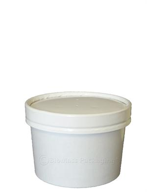 8-oz. Paper Soup Container & Lid Combo - Case of 250