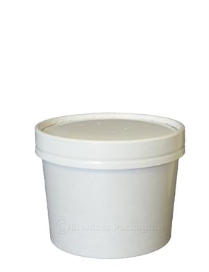 12-oz. Paper Soup Container & Lid Combo - Case of 250