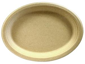 "Bridge-Gate Oval Platter (9"" x 12"") - Case of 500"