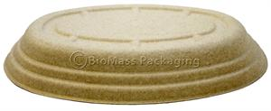 Bridge-Gate Lid for 24-oz. Oval Bowl - Case of 300