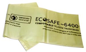 "EcoSafe 6400 96-gal Trash Can Liner (54"" x 60"") - Case of 60"