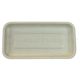 17S Bagasse Meat Tray