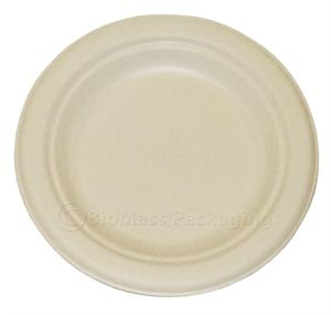 "BagasseWare 6"" Plate - Case of 1000"