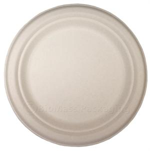 "BagasseWare 7"" Plate - Case of 1000"