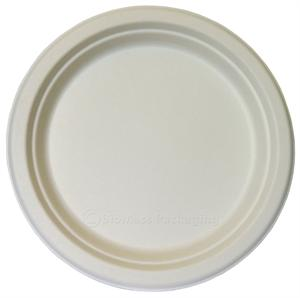 "BagasseWare 10"" Plate - Case of 500"