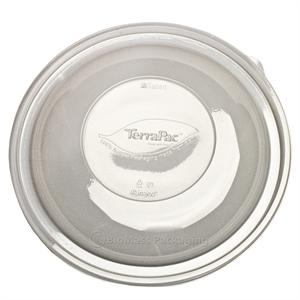 "TerraPac Clear Dome Lid for 64-oz. & 80-oz. Round Bowl (10.3"" diam.) - Case of 50"