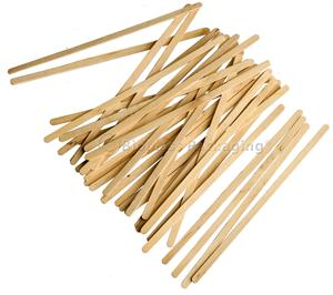 traditional wooden coffee stir sticks