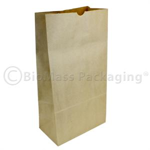 "#72 Natural Kraft Grocery Bag (12"" x 7"" x 23"") - Bale of 250"
