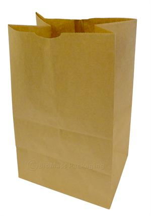 420 Natural Kraft Medium Grocery Bag 8 25 X 6 1 14 Bundle Of 500