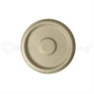 Fiber Lid for World Centric 4-oz portion cup | p/n 453-45503