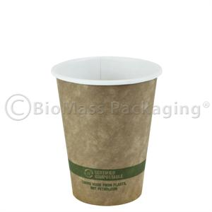 12-oz. Brown Kraft Ingeo Lined Hot Cup (p/n 453-10112)