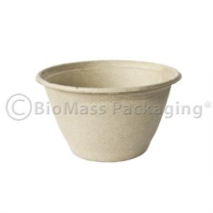 BagasseWare 6-oz Unbleached Bowl - Case of 1000