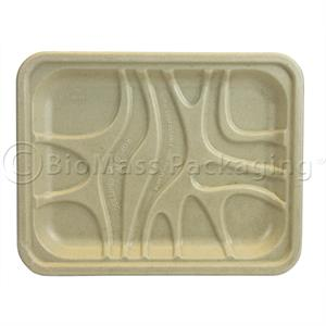 World Centric 4S PLA Lined Meat Tray
