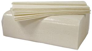 Bagasse Multifold Paper Towel 1-ply - Case of 4000