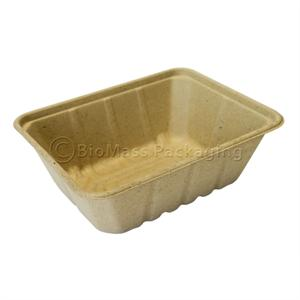 "54-oz Be Green Food Tray (8.9"" x 6.9"" x 3"") - Case of 500"