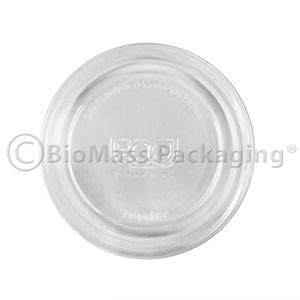 Eco-Products PLA Lid for 2-4oz Portion Cups (p/n 639-10502)