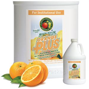 Earth Friendly Products Orange Plus RTU Cleaner/Degreaser 1-gallon bottles - Case of 4