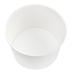 Karat Earth by Lollicup 16 oz White Soup Containers P/N 620-40116
