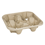 Lollicup 4 Cup Carry Tray P/N 620-85000