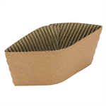 Lollicup Natural Kraft Cup Sleeve for 10-20 oz Hot Cups P/N 620-85300