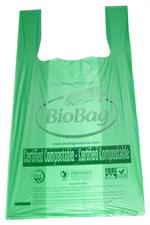 BioShopper Medium T-Shirt Shopping Bag (16