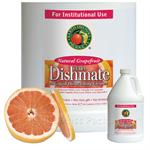 Earth Friendly Products Dishmate Ultra-Concentrated Grapefruit 1-gallon bottles  - Case of 4