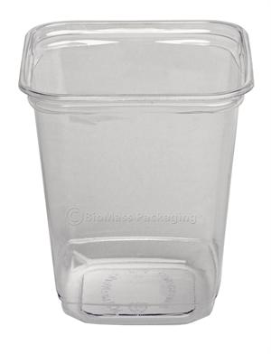 EcoServe 32-oz. Square Deli Container - Case of 500