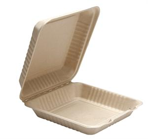 Pulp Clamshell Hinged Containers