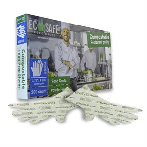 EcoSafe Food Prep Gloves - Medium | p/n 351-44502
