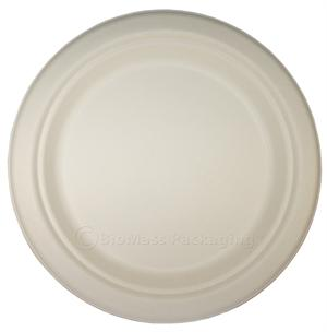 "BagasseWare 9"" Plate - Case of 500"