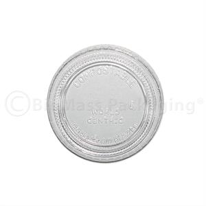 PLA Lid for World Centric 2-oz Portion Cup | p/n 453-45502