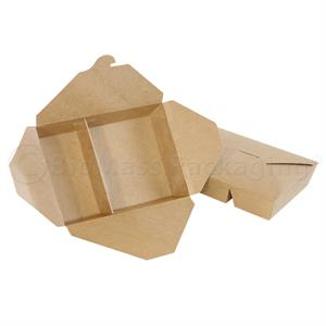 Bio Pack #22 2-Compartment Kraft Box | 680-22160