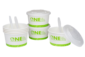 Compostable Soup Containers
