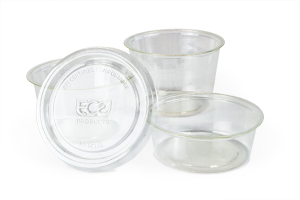 Souffle Portion Cups - bioplastic