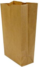 6 lb. Natural Kraft Small Grocery Bag (6