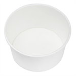 Karat Earth by Lollicup 12 oz White Soup Containers p/n 620-40112