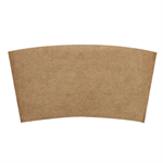 Lollicup Natural Kraft Cup Sleeve for 8 oz Hot Cups P/N 620-85305