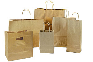 Shopping Bags - Recycled Paper